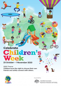 national children's week poster 2020